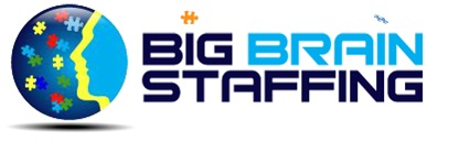 Logo for Big Brain Staffing